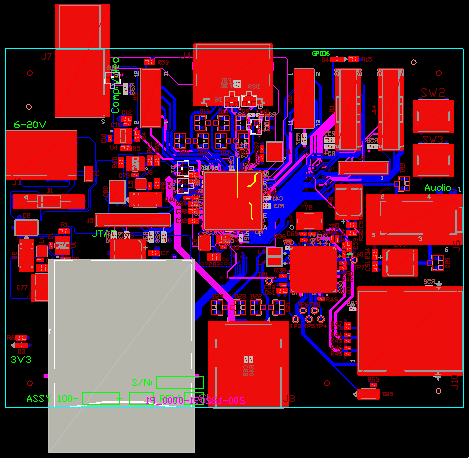 image of a circuit board diagram