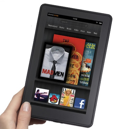 photo of the Amazon Kindle Fire tablet