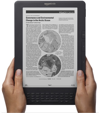 image of the kindle dx