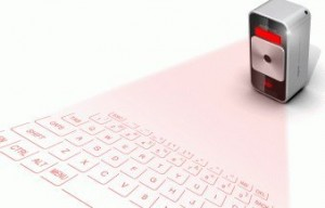 image of laser keyboard