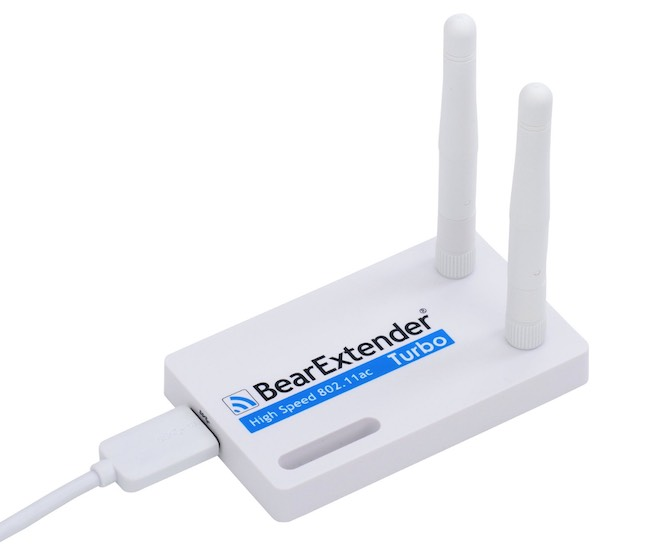 photo of Bear wifi signal extender